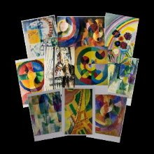 Edgar Delaunay postcards
