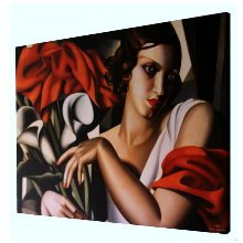 Tamara De Lempicka prints on canvas