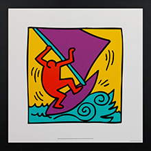 Keith Haring Framed prints