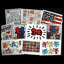 Keith Haring Postcards