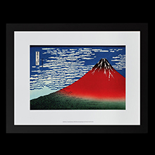 Hokusai Framed prints