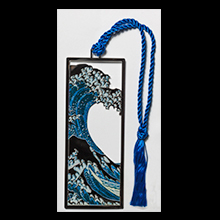 Hokusai bookmark