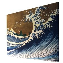 Reproductions sur toiles Hokusai