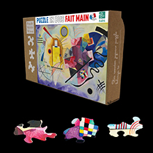 Kandinsky Puzzles for kids