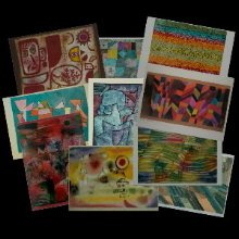 Paul Klee postcards