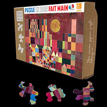 Paul Klee puzzles for kids