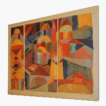 Paul Klee prints on canvas