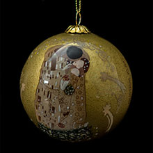 Klimt Christmas ball