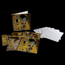 Gustav Klimt note cards