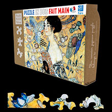 Gustav Klimt puzzles for kids