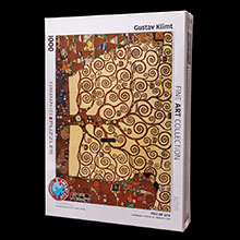 Gustav Klimt Puzzles of Art