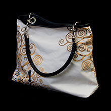 Gustav Klimt handbags and sleeves