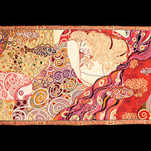Klimt tapestries