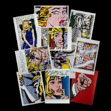 Roy Lichtenstein postcards