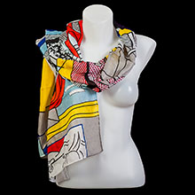 Roy Lichtenstein scarves
