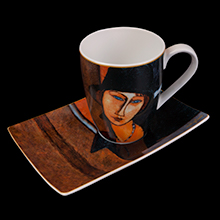 Tazza in porcellana Modigliani