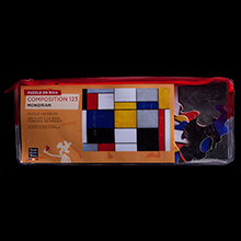 Mondrian Puzzles for kids