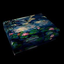 Claude Monet lacquered wood box