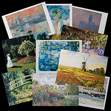 Claude Monet postcards