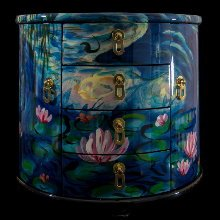 Claude Monet Jewelry box