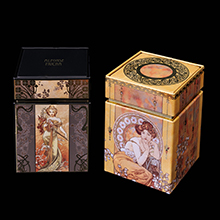 Mucha set of 2 Tea boxes