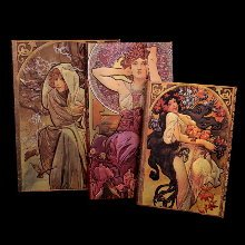 Carnets Paperblanks Mucha