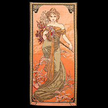 Mucha tapestries