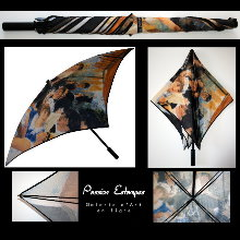 Renoir umbrella : The boaters