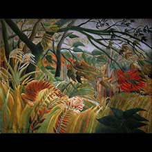 Le Douanier Rousseau Canvas prints