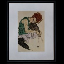 Egon Schiele framed prints