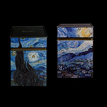Van Gogh set of 2 Tea boxes