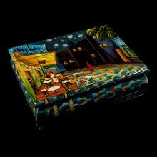 Van Gogh lacquered wood box