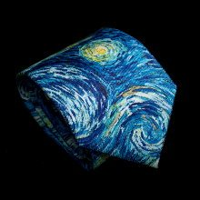 Van Gogh Tie : Starry night