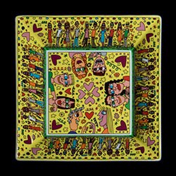 Assiettes et plats James Rizzi