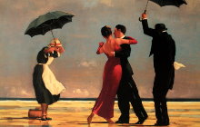 Vettriano : The singing Butler