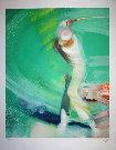 Paul Ambille : Lithographie originale : Le Golfeur