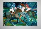 Paul Ambille : Lithographie originale : Polo