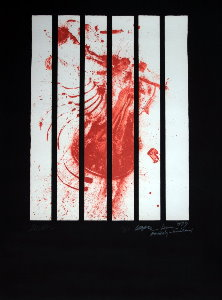 Arman Serigraph - Amnesty International