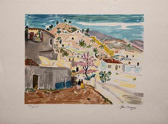 Yves Brayer Original Lithograph : Mexico