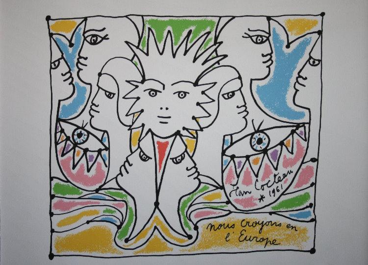 Resultado de imagen para Jean Cocteau pinturas