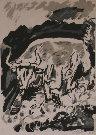 Henry D'ANTY : Lithographie originale signée et numérotée : Le taureau