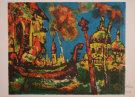 Henry D'ANTY : Lithographie originale signée et numérotée : Venise