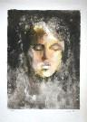 Leonor FINI : Lithographie originale : Le sommeil aveugle