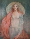 Leonor FINI : Lithographie originale signée et numérotée : Transprence