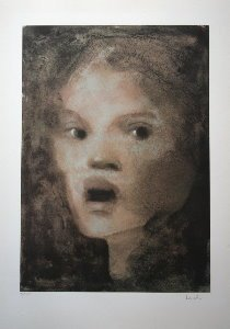Leonor Fini Lithograph - La surprise