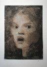 Leonor FINI : Lithographie originale signée et numérotée : La surprise