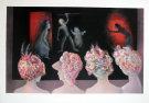 Leonor FINI : Lithographie originale signée et numérotée : Spectacle