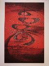 Terry HAASS : Gravure originale : Parcours de Junon