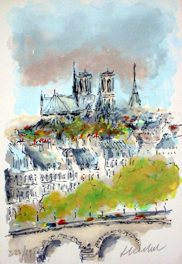 Notre Dame Christmas Ornaments