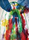 Paul JENKINS : Lithographie originale signée et numérotée : Earth Day 1971